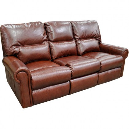 Roberta Leather Reclining Sofa