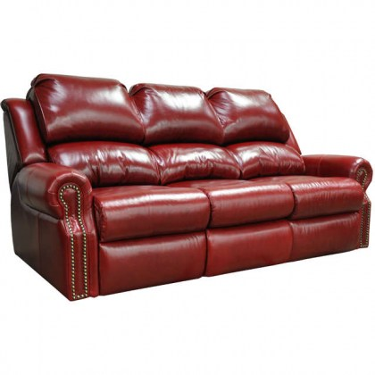 San Clemente Leather Reclining Sofa