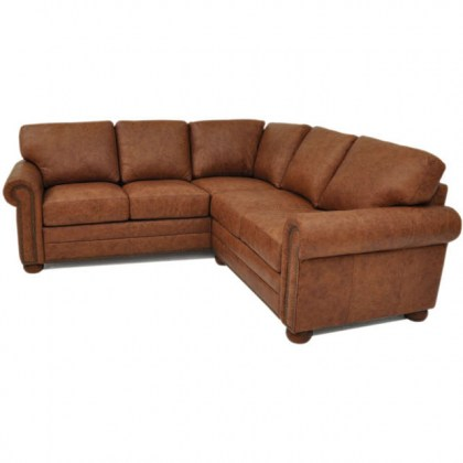 Savannah Leather Sectional
