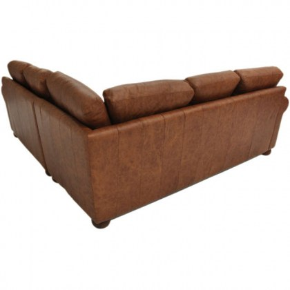 City Craft Leather Sectional