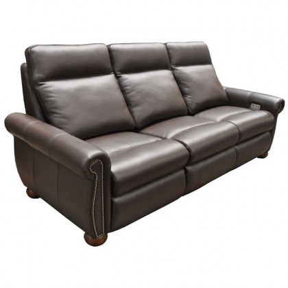 Stanton Leather Power Reclining Sofa