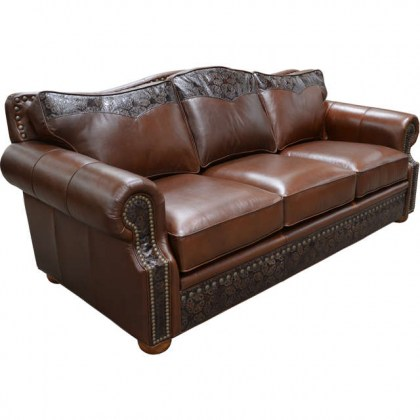 Monterrey Leather Sofa