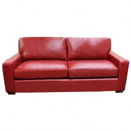 Twin City Leather Loveseat