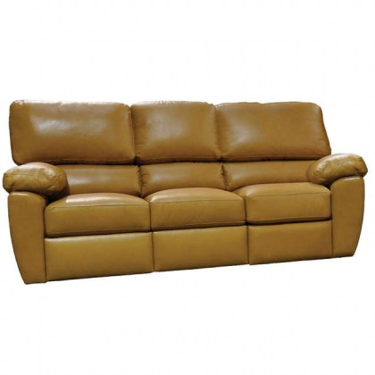 Vercelli Leather Sofa Sleeper