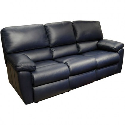 Vermont Leather Reclining Sofa