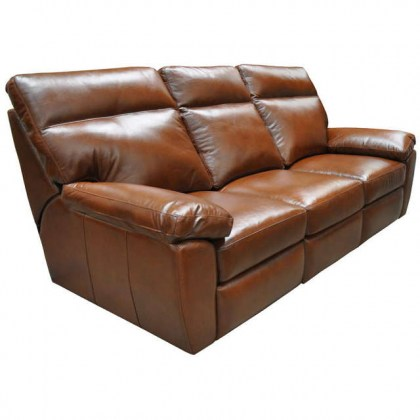 Versailles Leather Power Reclining Sofa