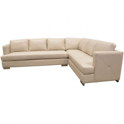 Brie Leather Sectional
