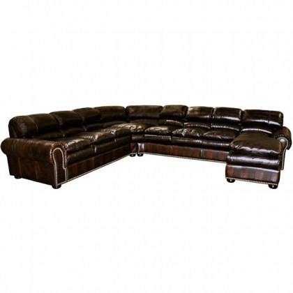 Williamsburg Leather Sectional