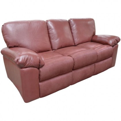 El Cajon Leather Reclining Sofa