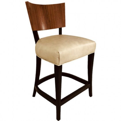 Conley Leather Bar Stool