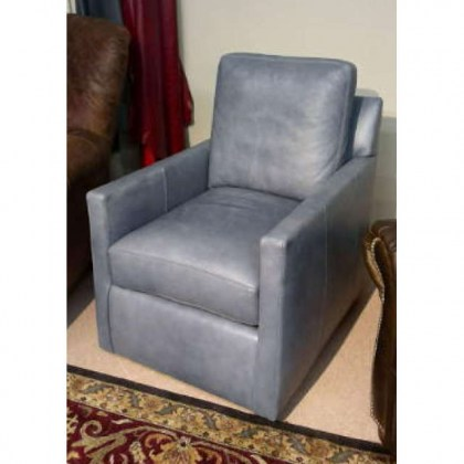 Harper Leather Swivel Chair