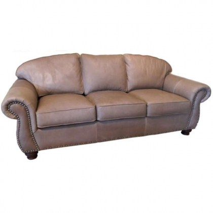 Willow Grove Leather Sofa