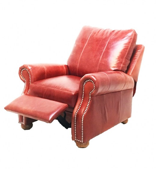 Foster Leather Recliner at Wellington's