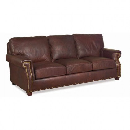 Empire Leather Sofa Sleeper