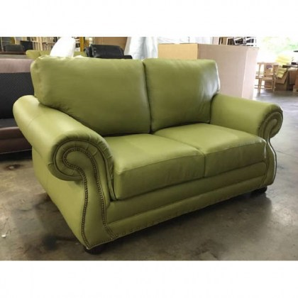 Rivers Leather Loveseat