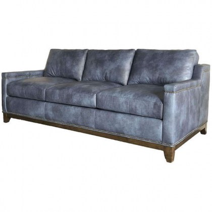 Gambill Leather Sofa