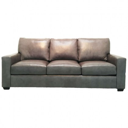 Chancellor Leather Loveseat at Wellington's