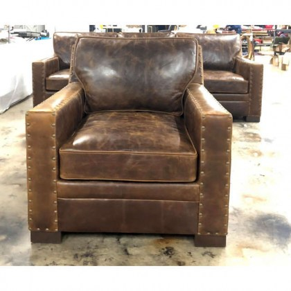 Empire Leather Chair