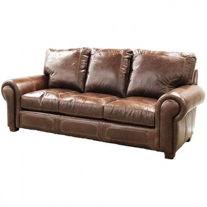 Dacula Leather Sofa
