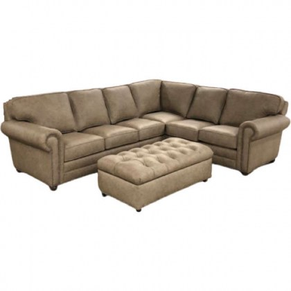 Isenhour Leather Sectional