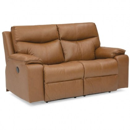 Providence Leather Reclining Loveseat