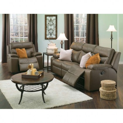 Arlo Leather Power Reclining Sofa