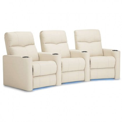 Techno Leather Reclining Home Theater