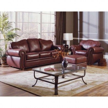 Troon Leather Sofa