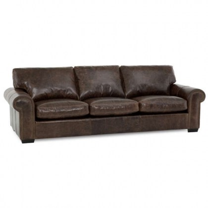 Barrington Leather Loveseat