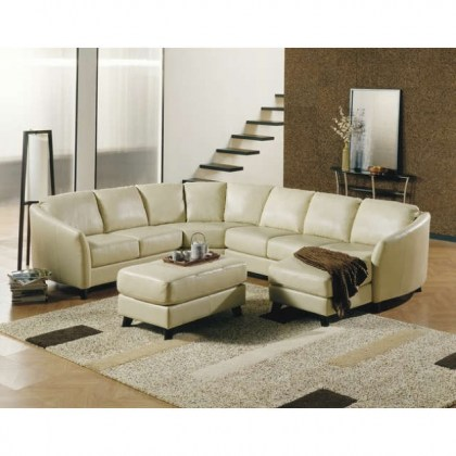 Colebrook Leather Sectional