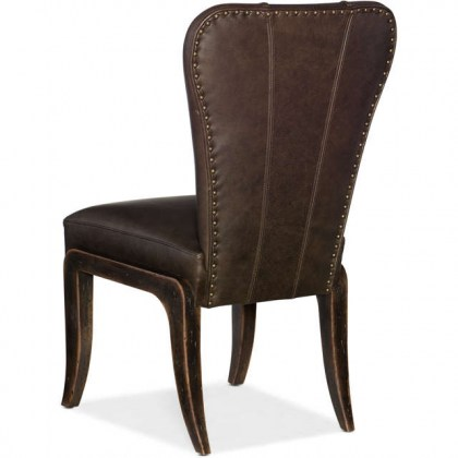 Woodlands Leather Dining Chair