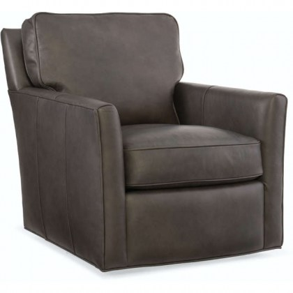 Mandy Leather Swivel Chair