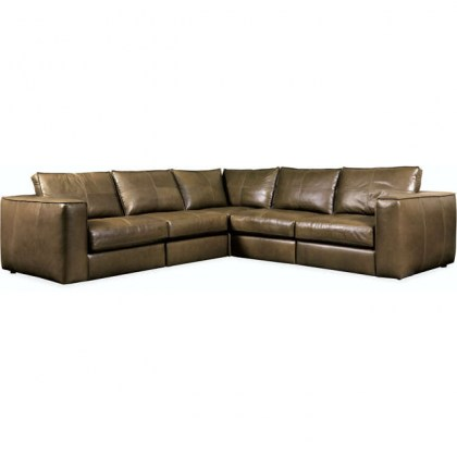 Solace Leather Sectional