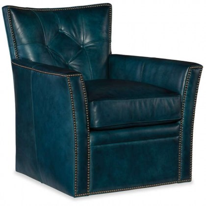 Conner Leather Swivel Chair