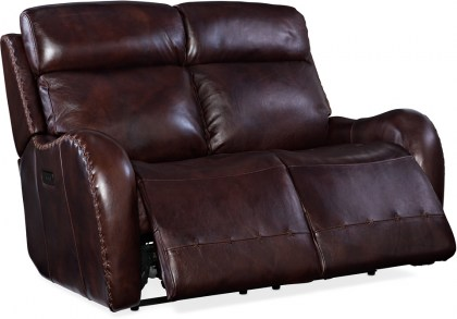 Mitch Leather Power Reclining Sofa