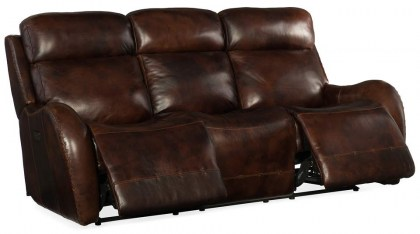 Northside Leather Power Reclining Sofa