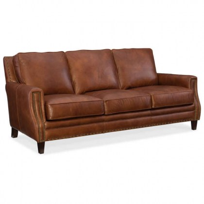 Exton Leather Sofa- In Stock Leather Furniture