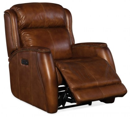 Wilson Leather Power Recliner - In Stock
