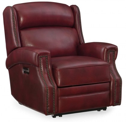 Harlow Leather Power Recliner - In Stock