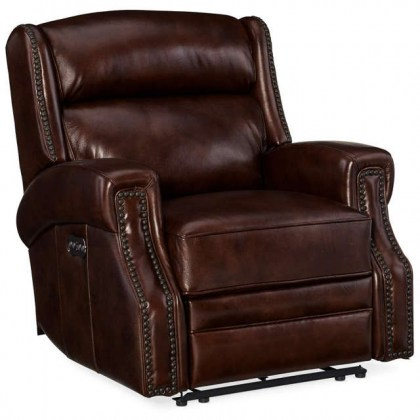 Skylar Leather Power Recliner - In Stock