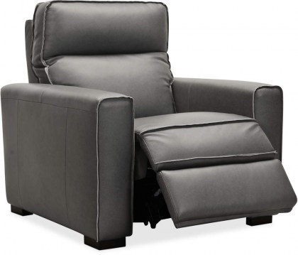 Braeburn Leather Power Recliner - In Stock