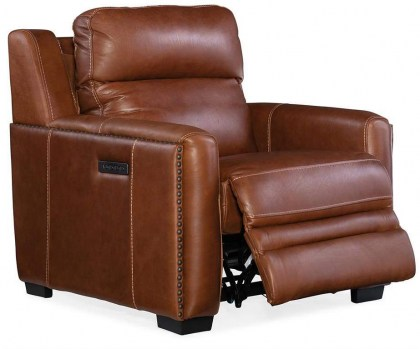 Willa Leather Power Recliner - In Stock