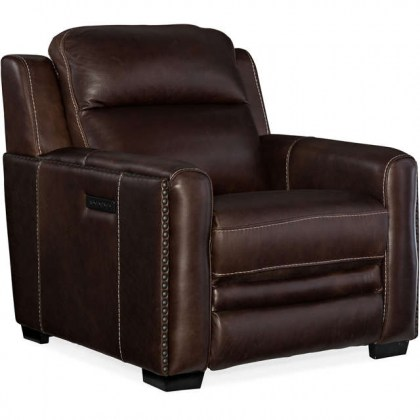 Willamina Leather Power Recliner - In Stock