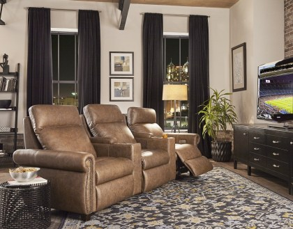 Remarkable Stanton Power Reclining Home Theater Seating With Articulating Headrests Pdpeps Interior Chair Design Pdpepsorg