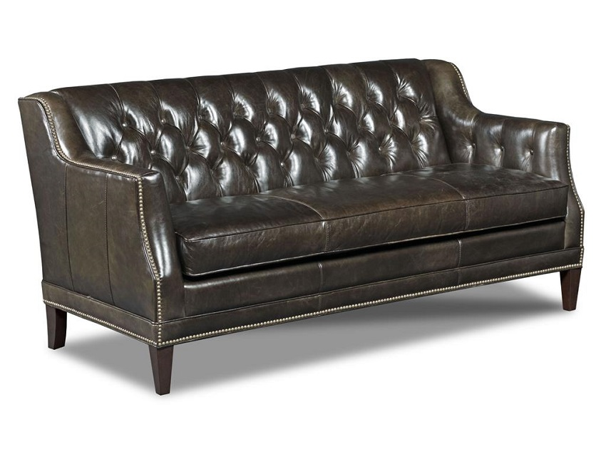 In Stock Leather Furniture: Balmoral Blair Leather Sofa