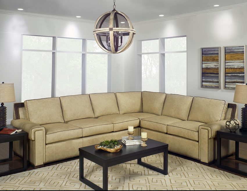 Sonoma  Leather Sectional