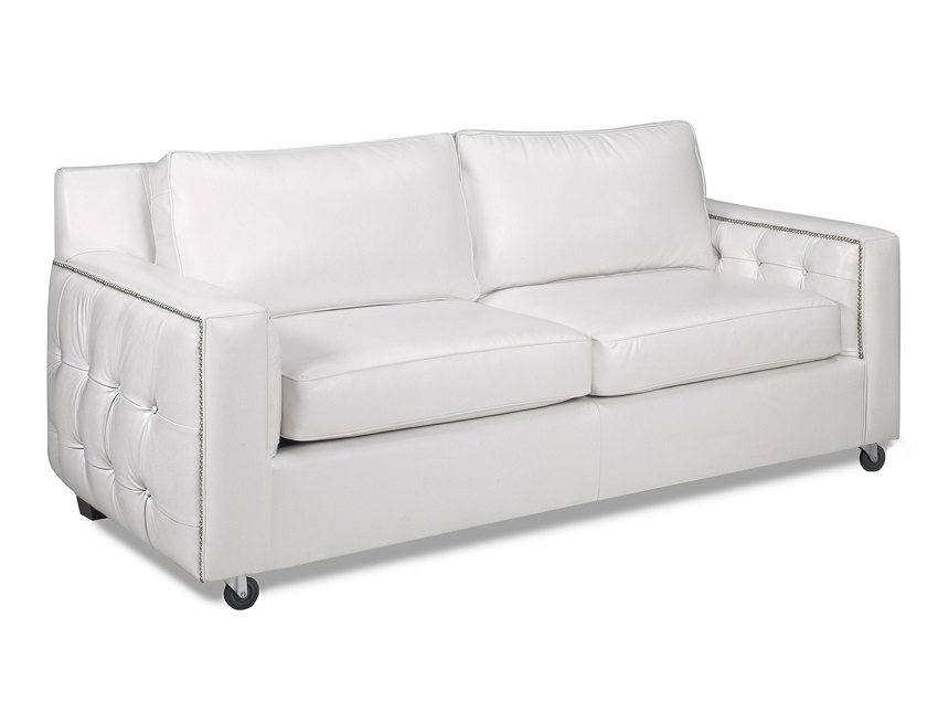Audrey Leather Loveseat